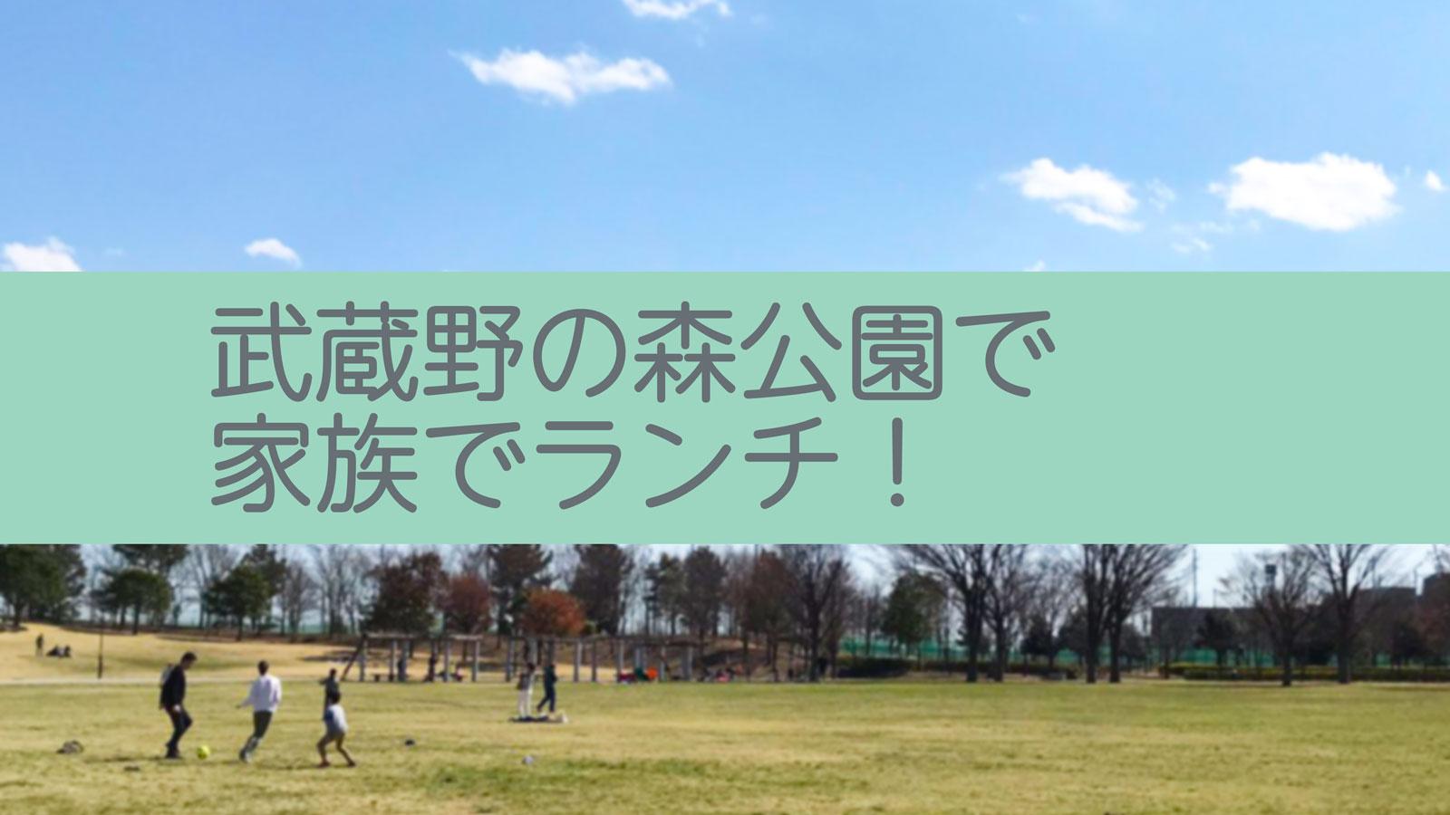 【おでかけ】武蔵野の森公園でランチ 飛行機の離発着もみれる!【かわうそ】